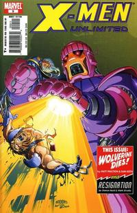 Cover Thumbnail for X-Men Unlimited (Marvel, 2004 series) #9