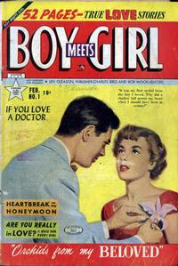 Cover Thumbnail for Boy Meets Girl (Lev Gleason, 1950 series) #1