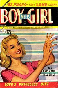 Cover Thumbnail for Boy Meets Girl (Lev Gleason, 1950 series) #2