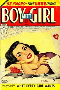 Cover Thumbnail for Boy Meets Girl (Lev Gleason, 1950 series) #4