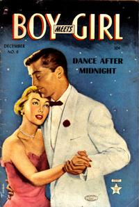 Cover Thumbnail for Boy Meets Girl (Lev Gleason, 1950 series) #6