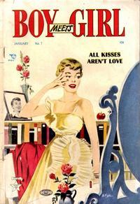 Cover Thumbnail for Boy Meets Girl (Lev Gleason, 1950 series) #7