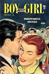 Cover Thumbnail for Boy Meets Girl (Lev Gleason, 1950 series) #10