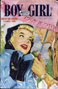 Cover Thumbnail for Boy Meets Girl (Lev Gleason, 1950 series) #11