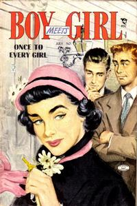 Cover Thumbnail for Boy Meets Girl (Lev Gleason, 1950 series) #13