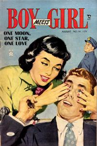 Cover Thumbnail for Boy Meets Girl (Lev Gleason, 1950 series) #14