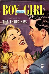Cover Thumbnail for Boy Meets Girl (Lev Gleason, 1950 series) #17