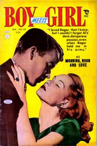 Cover Thumbnail for Boy Meets Girl (Lev Gleason, 1950 series) #19