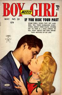 Cover Thumbnail for Boy Meets Girl (Lev Gleason, 1950 series) #23