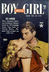 Cover Thumbnail for Boy Meets Girl (Lev Gleason, 1950 series) #24
