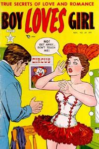 Cover Thumbnail for Boy Loves Girl (Lev Gleason, 1952 series) #29