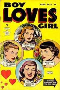 Cover Thumbnail for Boy Loves Girl (Lev Gleason, 1952 series) #32