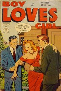 Cover Thumbnail for Boy Loves Girl (Lev Gleason, 1952 series) #39