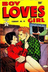Cover Thumbnail for Boy Loves Girl (Lev Gleason, 1952 series) #43