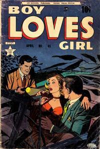 Cover Thumbnail for Boy Loves Girl (Lev Gleason, 1952 series) #45