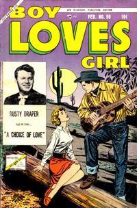 Cover Thumbnail for Boy Loves Girl (Lev Gleason, 1952 series) #50