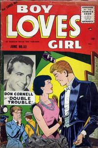 Cover Thumbnail for Boy Loves Girl (Lev Gleason, 1952 series) #52