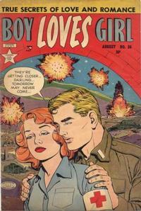 Cover Thumbnail for Boy Loves Girl (Lev Gleason, 1952 series) #26