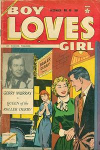 Cover Thumbnail for Boy Loves Girl (Lev Gleason, 1952 series) #49