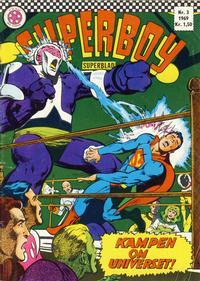 Cover Thumbnail for Superboy (Serieforlaget / Se-Bladene / Stabenfeldt, 1967 series) #3/1969