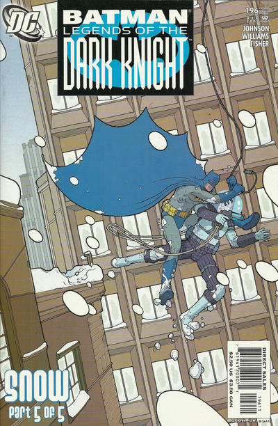 Cover for Batman: Legends of the Dark Knight (DC, 1992 series) #196