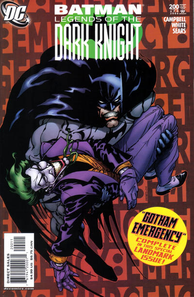 Cover for Batman: Legends of the Dark Knight (DC, 1992 series) #200