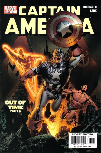 Cover for Captain America (Marvel, 2005 series) #5