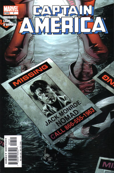 Cover for Captain America (Marvel, 2005 series) #7