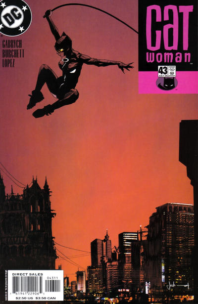 Cover for Catwoman (DC, 2002 series) #43