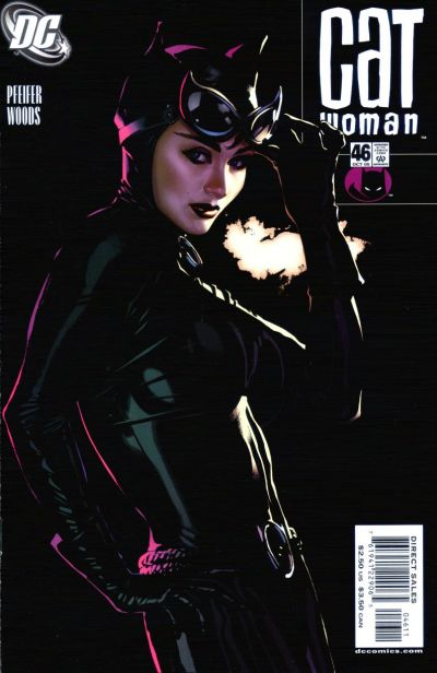 Cover for Catwoman (DC, 2002 series) #46