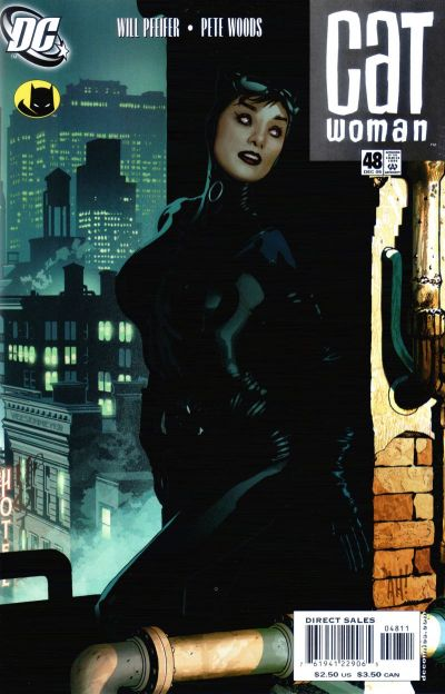 Cover for Catwoman (DC, 2002 series) #48