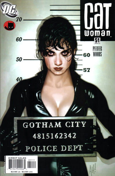 Cover for Catwoman (DC, 2002 series) #51