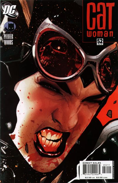 Cover for Catwoman (DC, 2002 series) #52