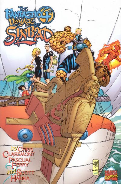 Cover for Fantastic 4th Voyage of Sinbad (Marvel, 2001 series) #1