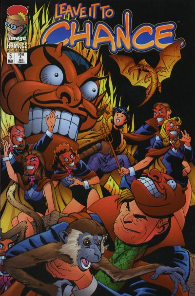 Cover for Leave It to Chance (Image, 1996 series) #5