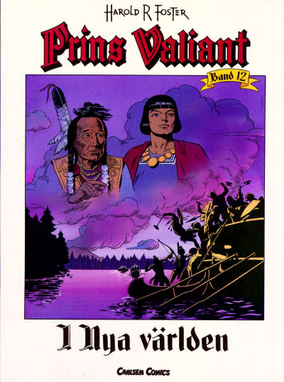 Cover for Prins Valiant (Bonnier Carlsen, 1994 series) #12
