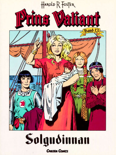 Cover for Prins Valiant (Bonnier Carlsen, 1994 series) #13