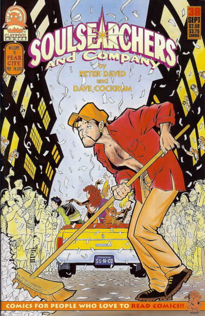 Cover for Soulsearchers and Company (Claypool Comics, 1993 series) #38