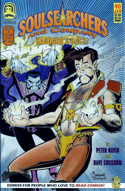 Cover for Soulsearchers and Company (Claypool Comics, 1993 series) #40