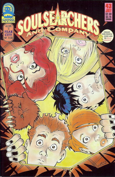 Cover for Soulsearchers and Company (Claypool Comics, 1993 series) #43