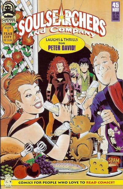 Cover for Soulsearchers and Company (Claypool Comics, 1993 series) #45