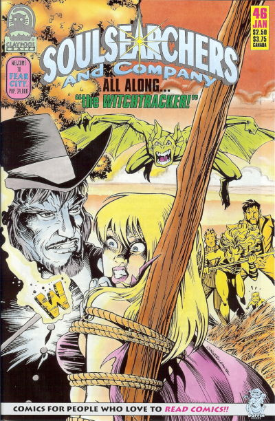Cover for Soulsearchers and Company (Claypool Comics, 1993 series) #46