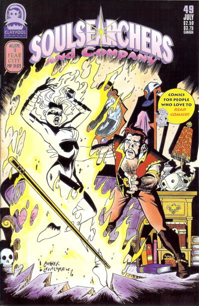 Cover for Soulsearchers and Company (Claypool Comics, 1993 series) #49