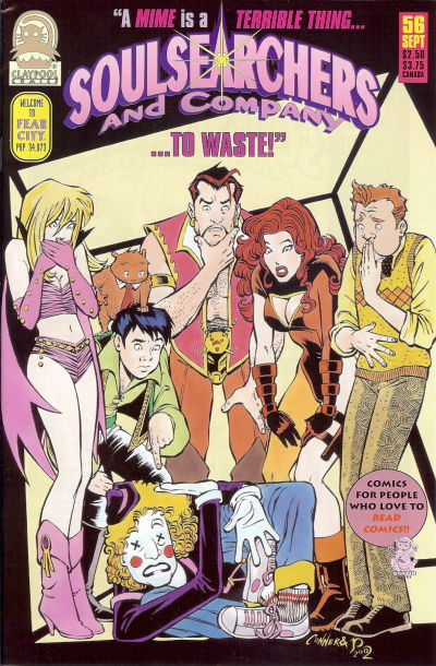 Cover for Soulsearchers and Company (Claypool Comics, 1993 series) #56
