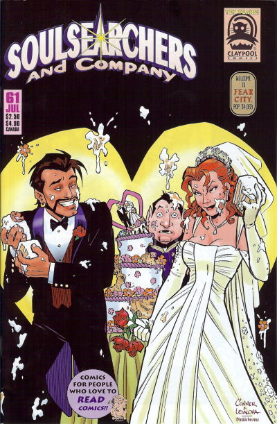 Cover for Soulsearchers and Company (Claypool Comics, 1993 series) #61