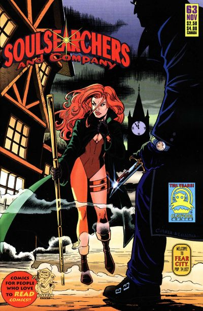 Cover for Soulsearchers and Company (Claypool Comics, 1993 series) #63