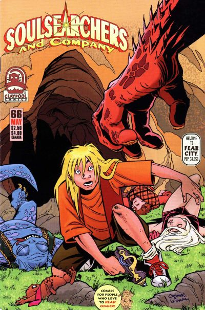 Cover for Soulsearchers and Company (Claypool Comics, 1993 series) #66