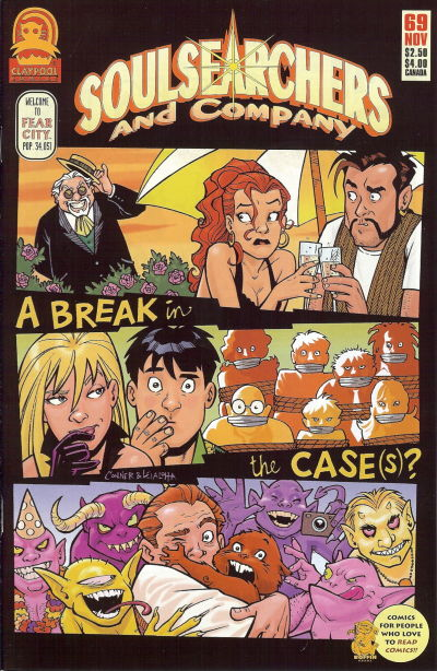 Cover for Soulsearchers and Company (Claypool Comics, 1993 series) #69