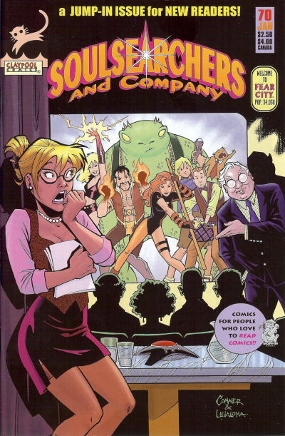 Cover for Soulsearchers and Company (Claypool Comics, 1993 series) #70