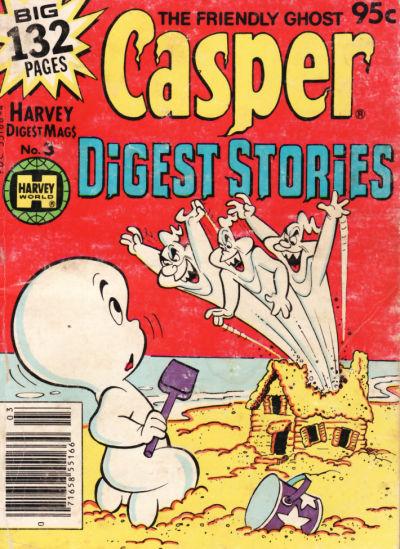 Cover for Casper Digest Stories (Harvey, 1980 series) #3